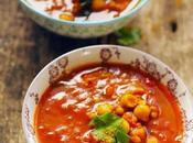 Petite soupe tomate l'orientale pour commencer menu reconfort'food Marque Repère