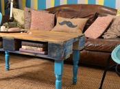 Recyclage palette vraie jolie table