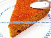 Gâteau carottes, amandes noisettes Carrot Cake