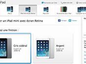 L'iPad mini Retina disponible vente France