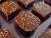 Chocolats fins ganache lait fève Tonka