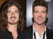 Robin Thicke avait cheveux long