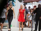 Rita cheveux blancs pour shoot photo Miami