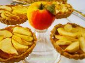 Tartelettes pommes coings sirop d'érable