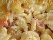 Macaroni fromage l'ail aromatisé