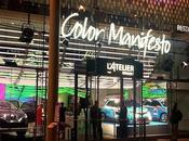 Color Manifesto, exposition lumineuse l'Atelier Renault