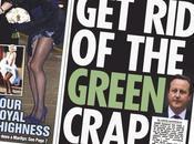 David Cameron Débarassons-nous cette merde verte
