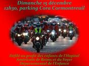 Balade pères noël Motards Reims (51) 15/12/2013