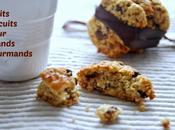 Biscuits avoine, dattes, noix pépites chocolat