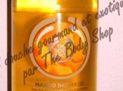 produit chouchou chez Body Shop douche mangue