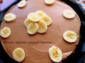Mousse chocolat caramel banane