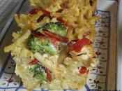 Gratin macaronis ptits légumes