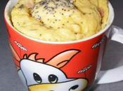 Mug-cake jambon cru/fromage