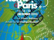 décembre 2013 Rome Paris cinéma italien Balzac