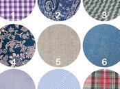 idées tissus pour chemise d'hommes