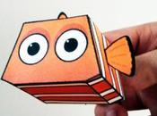 Papertoy Nemo Paper Minions