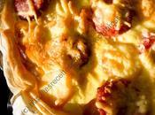 Tarte pommes terre saucisse Morteau Potato Sausage