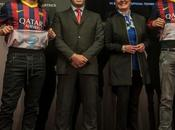 Intel, sponsor l'intérieur maillot Barça