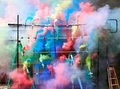 Talent suivre Olaf Breuning photographies très colorées