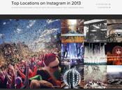 Tendances 2013: villes plus photographiées Instagram