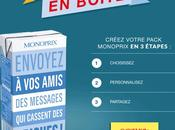 Monoprix lance application pour personnaliser packagings