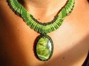 joli collier pour être zen, avec serpentine