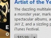 "iTunes désigne Justin Timberlake ""Artiste l'année"""