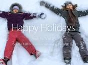 site Apple affiche campagne publicitaire Noël...