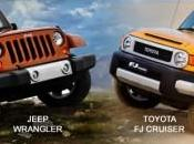Toyota Cruiser Jeep Wrangler 2014 Match comparatif