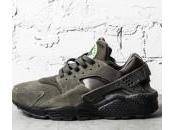 Nike Huarache Cargo Khaki Suede