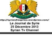 VIDEO.Journal Syrie 25.12.2013. Œcuménisme messes l'occasion Noël