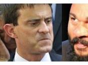 DIEUDONNE. Manuel Valls, censeur, comble mensonge l'infamie.