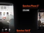 Decathlon tablette Quecha