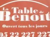 Table Benoît