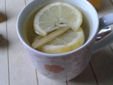 Infusion gingembre, citron citronnelle