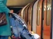 métro Londres poussette C'est costaud… mais possible