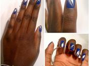 Silver Blue manucure
