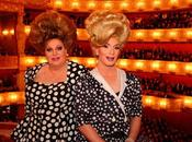Deux drag queens l'Opéra Munich