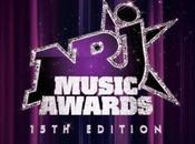"""Music Awards: montée marches stars préférés direct grâce before"""" NMA."""