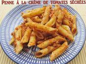Pâtes crème tomates séchées