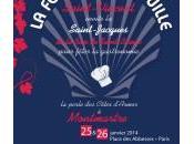 janvier 2014, Montmartre reçoit Fête Coquille Saint-Jacques