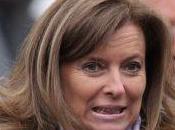Valérie Trierweiler encore disposée accompagner président