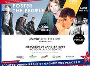Gagne places pour Creative Live Session avec Foster People, Odell, Chlöé Howl Saint Michel Palais Tokyo