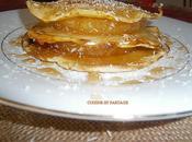 pancakes façon hamburger, ananas caramélisé noix coco