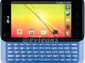 Optimus F3Q, smartphone clavier coulissant