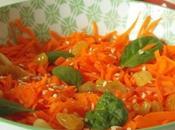 Salade carottes rapees l'orange