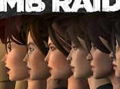 Infographie L'évolution graphique Lara Croft 1996 2014.