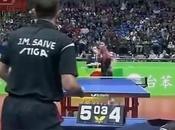 match tennis table plus hilarant l'histoire