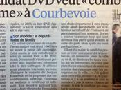 Parisien annonce candidature Arash Derambarsh élections municipales Courbevoie