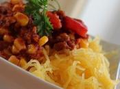 ~Chili rapide courge spaghetti~